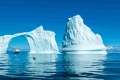 National Geographic Explorer, Framed by Iceberg, Ice Arch, Iceberg, Davis Strait, Greenland
