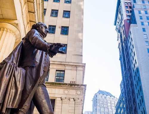 New York   George Washington in New York New York City Walking Adventure