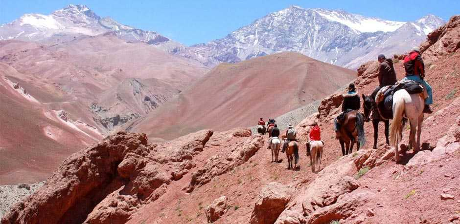 Chile  Crossing of the AndesAndean Horseback Adventure